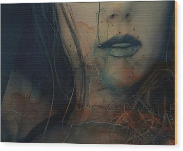 Wood Print featuring the mixed media In A Broken Dream  by Paul Lovering