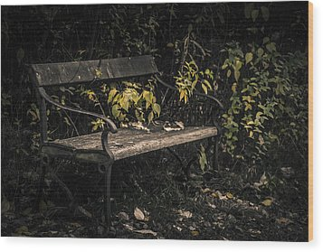 Wood Print featuring the photograph In A Forgotten Corner by Odd Jeppesen