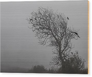 Wood Print featuring the photograph In Days Of Silence by Odd Jeppesen