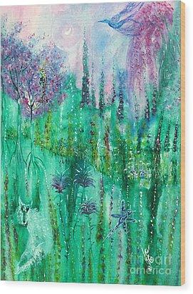In Dreams Wood Print