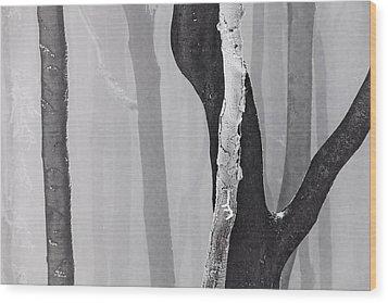 In Love Wood Print by Evgeni Dinev