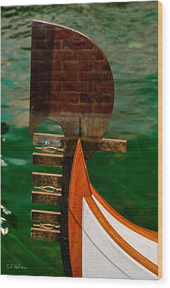 In Reflection Wood Print by Christopher Holmes
