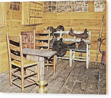 In The Barn Wood Print