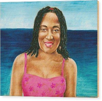 In The Caribbean Wood Print