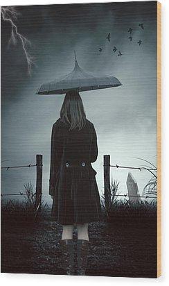 In The Dark Wood Print by Joana Kruse