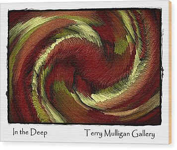 In The Deep Wood Print by Terry Mulligan