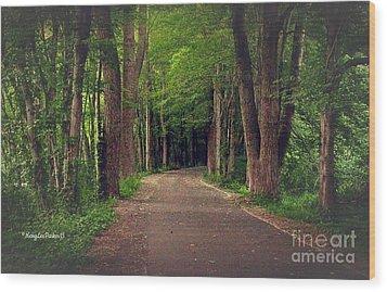 In To The   Deep Dark Woods  Wood Print
