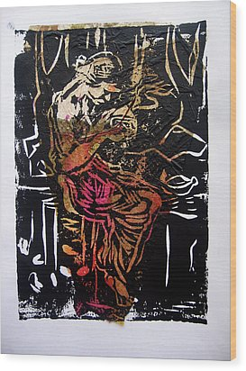 Incense Box 2 Wood Print by Adam Kissel