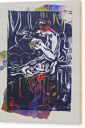 Incense Box 4 Wood Print by Adam Kissel