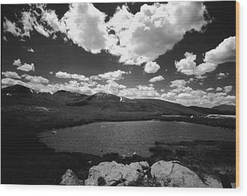 Independence Pass Colorado Wood Print by Susan Chandler