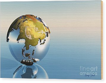 India, Asia, Japan Wood Print by Corey Ford