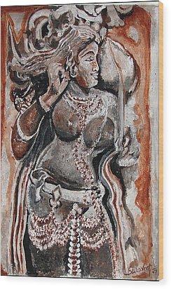 Indian Heratage-2 Wood Print by Anand Swaroop Manchiraju