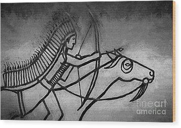 Indian Memorial Wood Print by Sharon Seaward