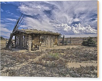 Indian Trading Post Montrose Colorado Wood Print