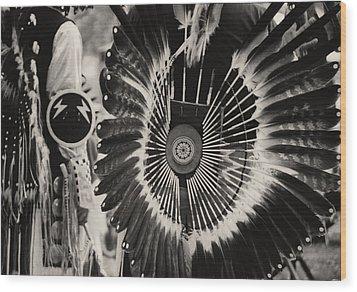 Indigenous 2 Wood Print by David Gilbert