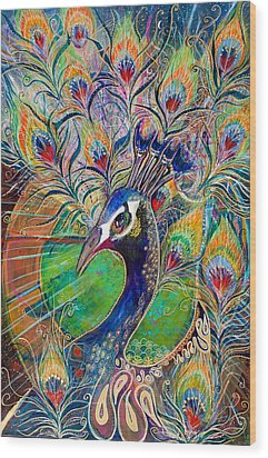 Confidence And Beauty- Individuality Wood Print by Leela Payne