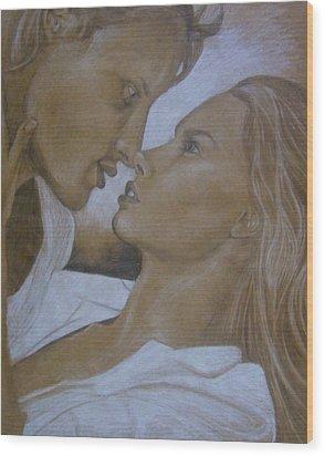 Infatuation Wood Print