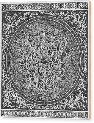 Infinity Wood Print by Joe MacGown