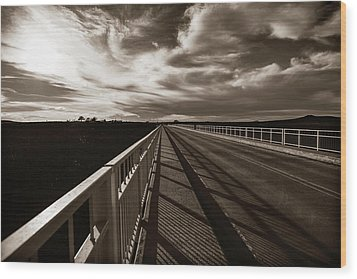 Wood Print featuring the photograph Infinity by Marilyn Hunt
