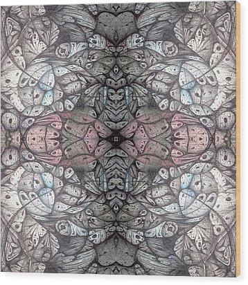 Inked Wood Print