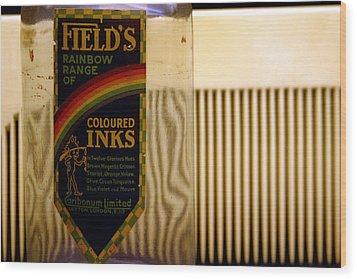 Inky View Wood Print by Jez C Self