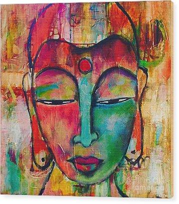 Inner Buddha  Wood Print