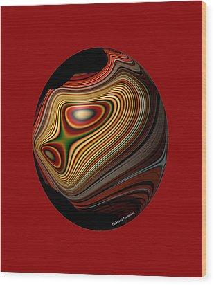 Inner Galaxy Wood Print