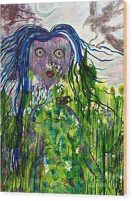 Inner Wild Woman Wood Print