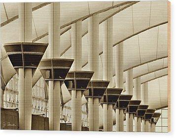 Inside Dia No. 2 Wood Print by Joe Bonita