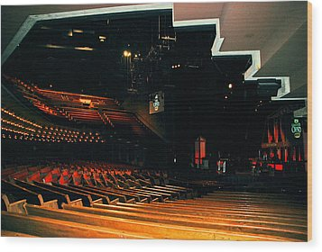 Inside Grand Ole Opry Nashville Wood Print by Susanne Van Hulst