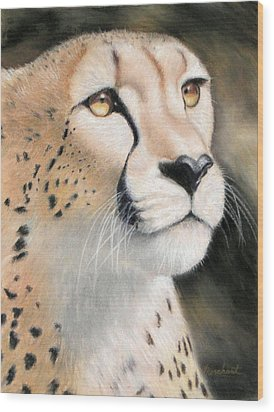 Intensity - Cheetah Wood Print