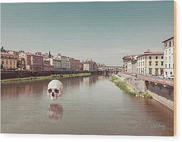 Wood Print featuring the photograph Interloping, Florence by Joseph Westrupp