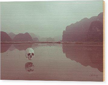 Interloping, Vietnam Wood Print by Joseph Westrupp
