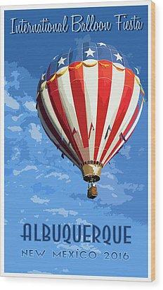International Balloon Fiesta Wood Print