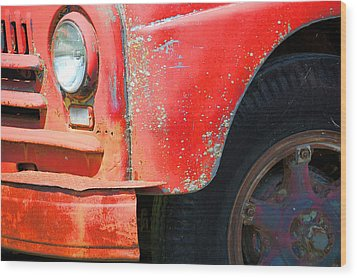 International Fire  Wood Print by Jame Hayes