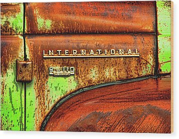 International Mcintosh  Horz Wood Print by Jeffrey Jensen