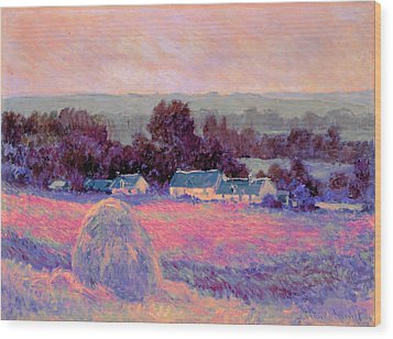 Inv Blend 10 Monet Wood Print
