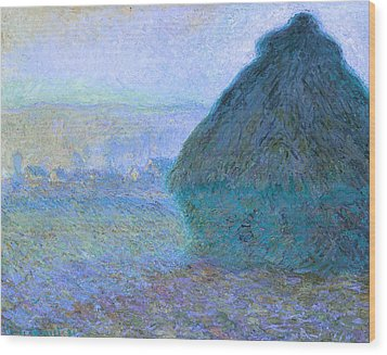 Inv Blend 21 Monet Wood Print by David Bridburg