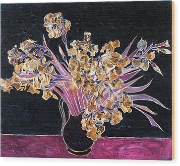 Inv Blend 3 Van Gogh Wood Print
