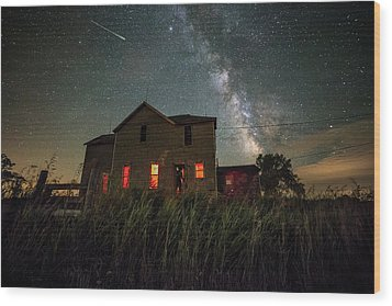 Wood Print featuring the photograph Invasion by Aaron J Groen