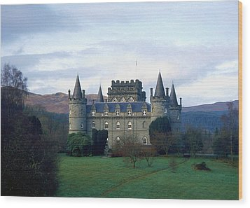 Inveraray Castle Wood Print