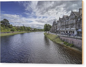 Wood Print featuring the photograph Inverness by Jeremy Lavender Photography