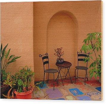 Invitation Wood Print by Susanne Van Hulst