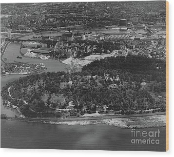Inwood Hill Park Aerial, 1935 Wood Print by Cole Thompson