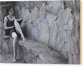 Iona Lynn 1-4 Wood Print by David Miller