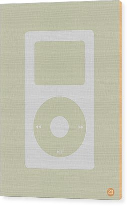 iPod Wood Print by Naxart Studio