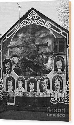 Ira Wall Mural Belfast Wood Print by Joe Fox
