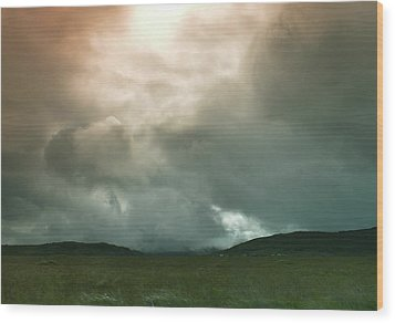 Wood Print featuring the photograph Irish Atmospherics. by Terence Davis
