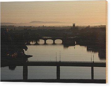 Irish Sunrise  Wood Print
