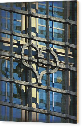 Iron Heart Wood Print